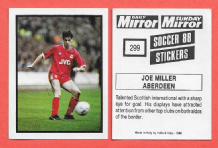 Aberdeen Joe Miller Scotland 299